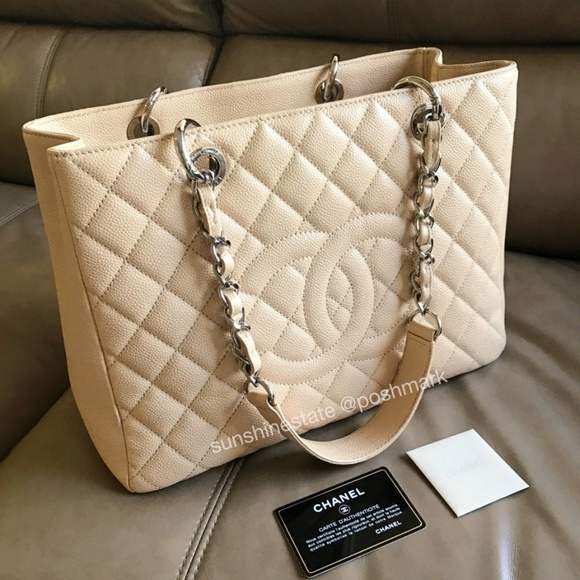 de92a027f122b5 CHANEL Handbags - CHANEL Caviar Quilted Grand Shopping Tote GST Bag